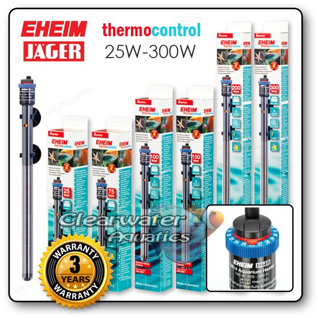 Eheim Jager Heaters All Sizes